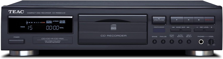 Teac CD-RW890MK2-B CD Recorder (Black)