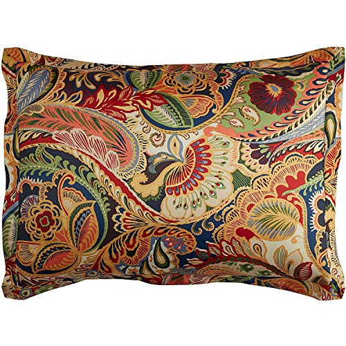 Pier 1 Imports Vibrant Paisley Standard Pillow Sham by Pier 1 Imports