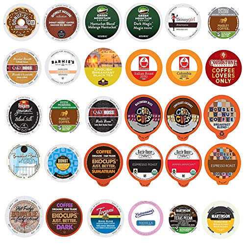 - Coffee Variety Sampler Pack for Keurig K-Cup Brewers, 30 Count