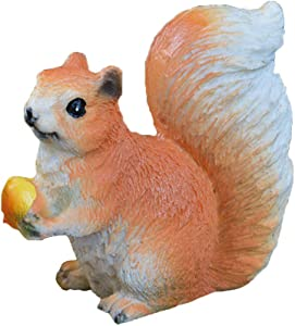 Wansan 1Pc Miniature Fairy Garden Mini Squirrel Accessories Home Garden Outdoor Decoration Ornaments DIY Craft Decor