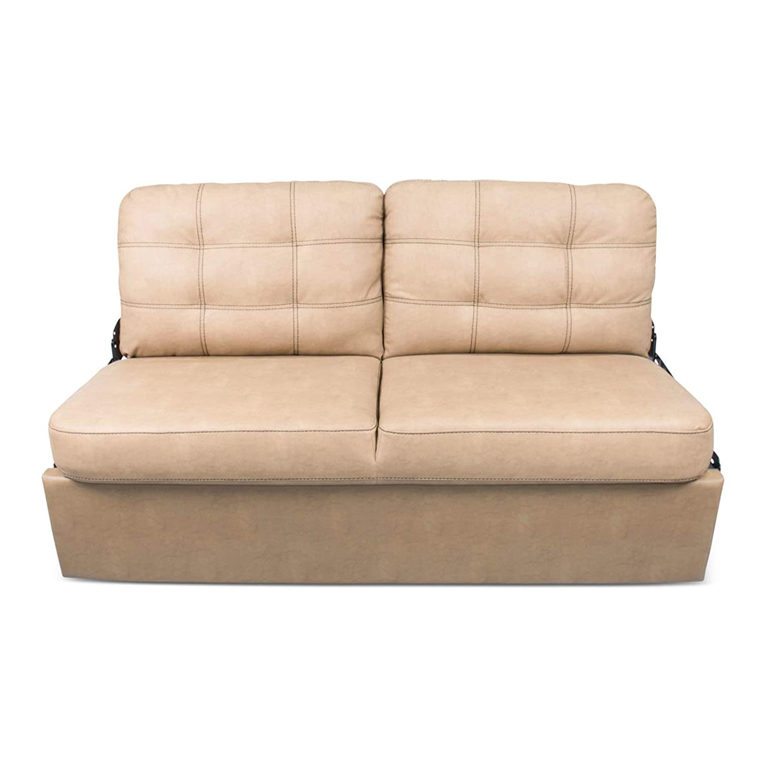 Awesome 68In Jack Knife Sofa Beckham Tan With Kickboard Pabps2019 Chair Design Images Pabps2019Com