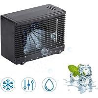 Tnfeeon 12V Mini Aire Acondicionado Refrigerador para Vehículos