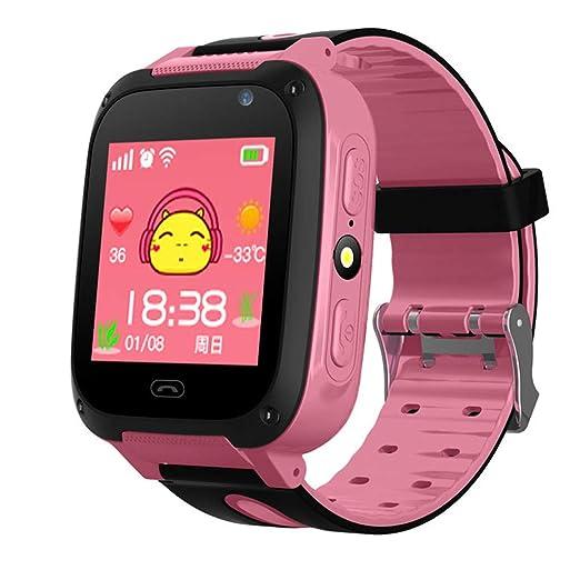 Niños Smartwatch - Bluetooth Localizador de posición GPS/LBS Reloj ...