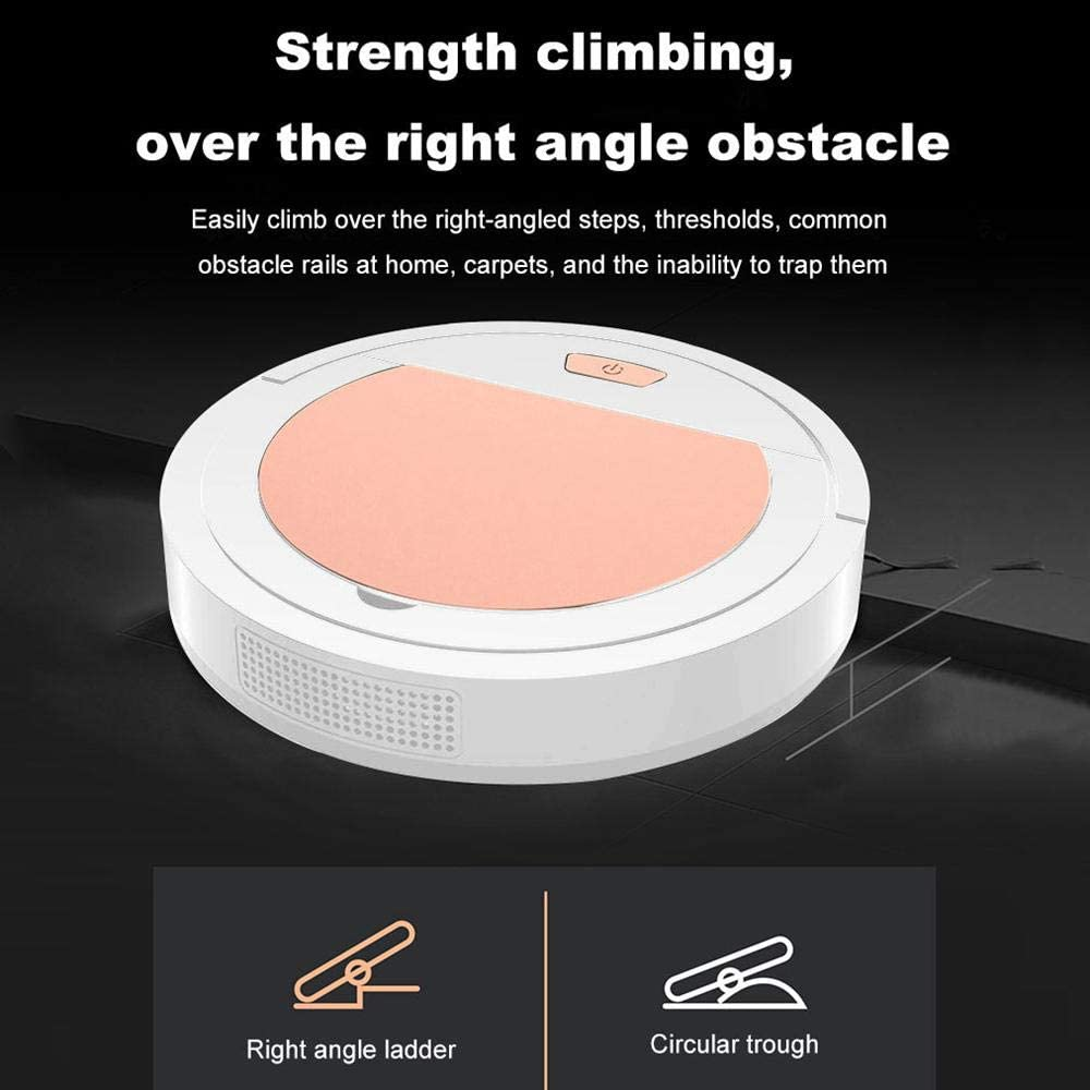 Anti-Collision Good For Pet Hair OOOUSE 3 In 1 Automatic Sweeping Vacuuming /& Mopping Robotic Vacuum Cleaner Quiet Super-Thin 1800Pa Strong Suction Robot Vacuum Cleaner Carpets,Hard Floors,Tile