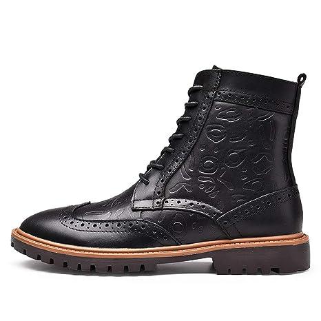 Gfphfm-shoes Nuovi Stivali da Uomo Moda Uomo Stivaletti Invernali da Uomo  Stivali da Moto 00f53c5ec9c