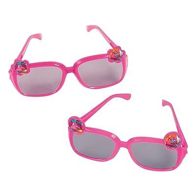 "amscan Trolls Birthday, Glasses, 1.75\"" x 4.5\"", 6 Ct.: Toys & Games [5Bkhe0304373]"