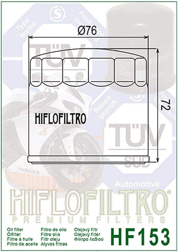 /Ölfilter Hiflo Schwarz 950 Multistrada ABS AA05 17
