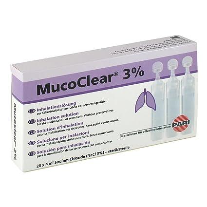 Mucoclear 3% Nacl Inhalationslösung 20X4 ml