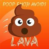 Poop Emoji Avoids LAVA! Jump Up From Hot Floor: Tube Poo Meme Challenge Free Arcade Game