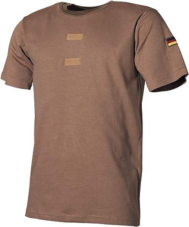 MFH Camisa Tropical Bundeswehr con Insignia y Velcro: Amazon.es: Ropa y accesorios