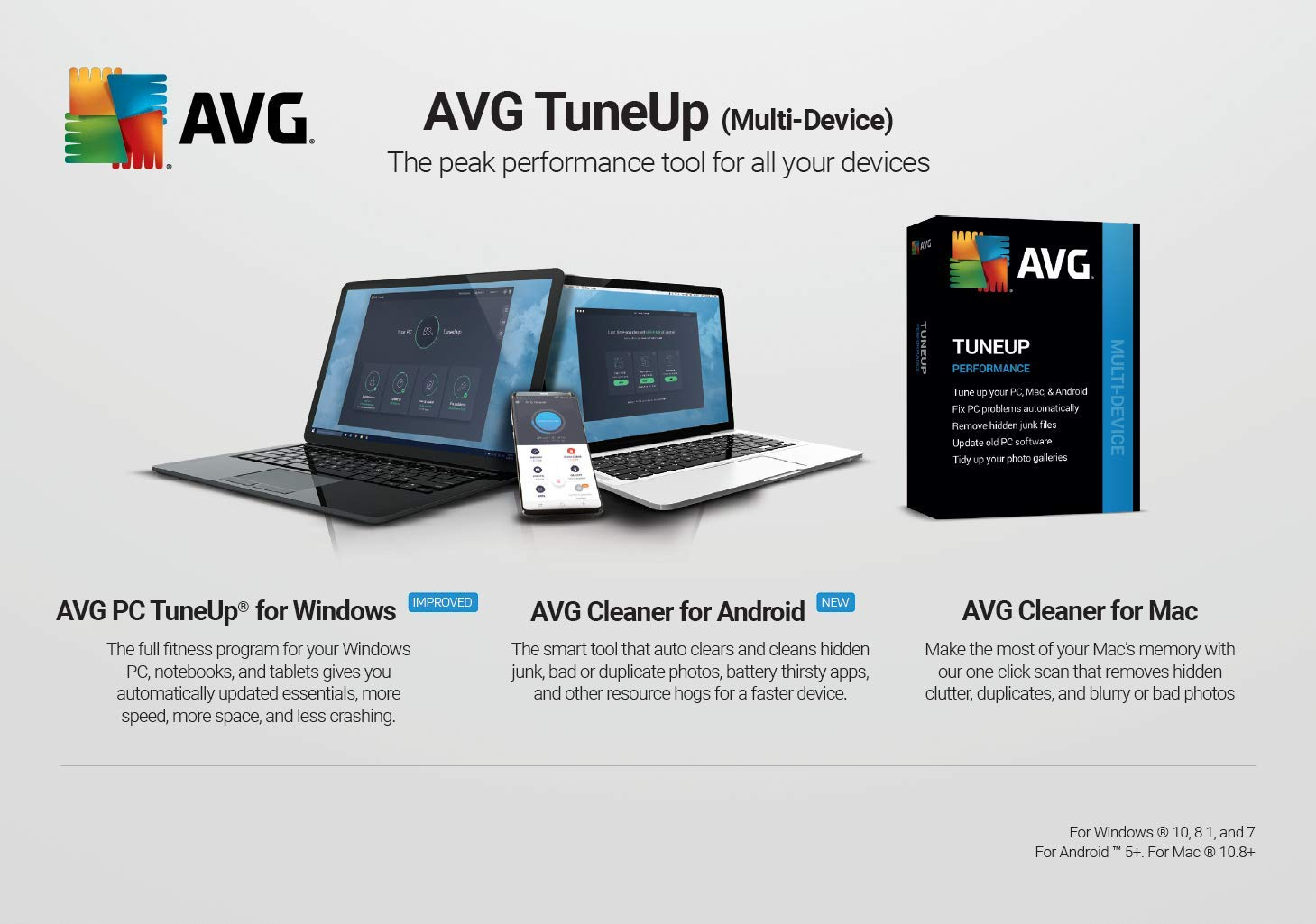 Best Mac Cleaner 2020.Avg Tuneup 2020 5 Devices 2 Years Pc Mac Mobile Download