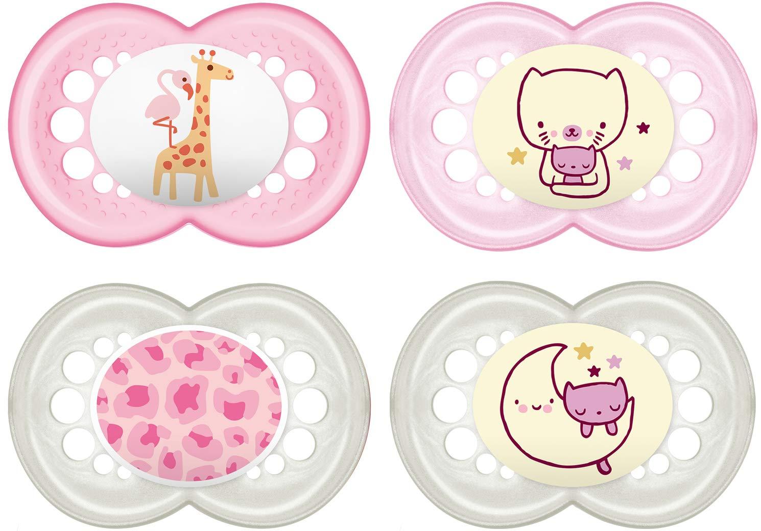 MAM Baby Products 99970022 Día y Noche Chupete - Establecer 6-16 ...