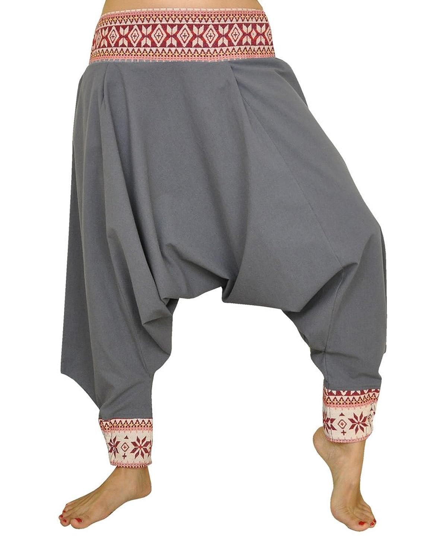 72e59bf68 alta calidad Pantalones cagados corte tradicional con decoración hermosa  como ropa hippie y pantalones bombachos de