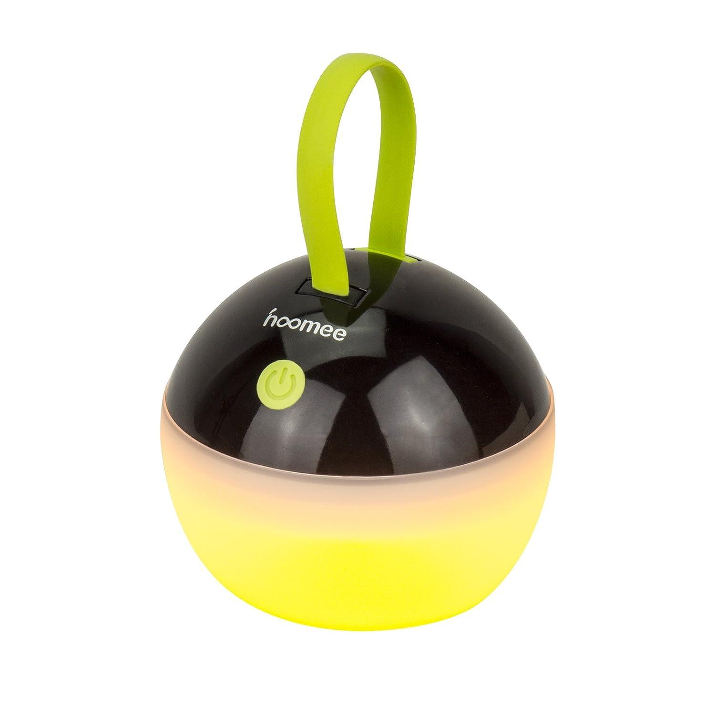 HOOMEE Lámpara Led Portátil – Lámpara Redonda Pequeña USB Recargable - Premio Red Dot - Perfecto Para Actividades Interiores Y Exteriores, Camping, Emergencias, Decoración del hogar - Impermeable, a prueba de polvo - 4 modos de luz LY-JD80