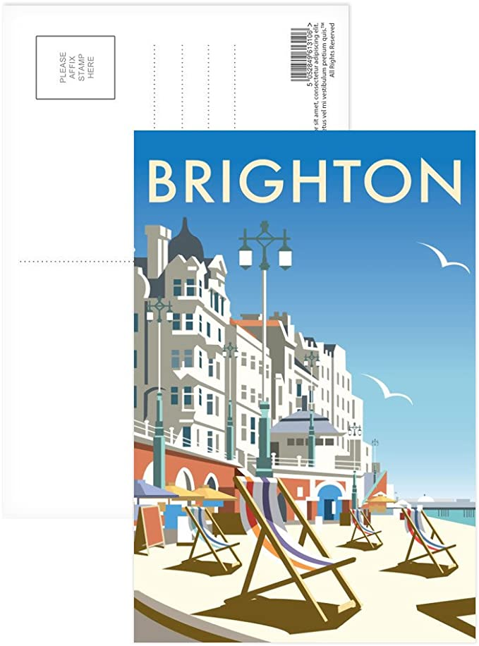 Pack of 8 Postcard Portsmouth Dockyard Art247 - 6x4 inch