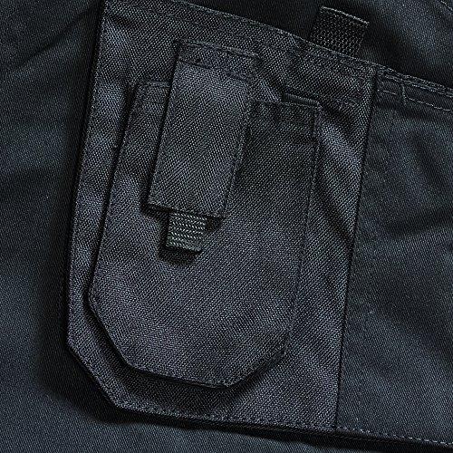 Blackrock 7640644 - Los Hombres De Workman Corto Plancha - Negro, 44 Pulgadas
