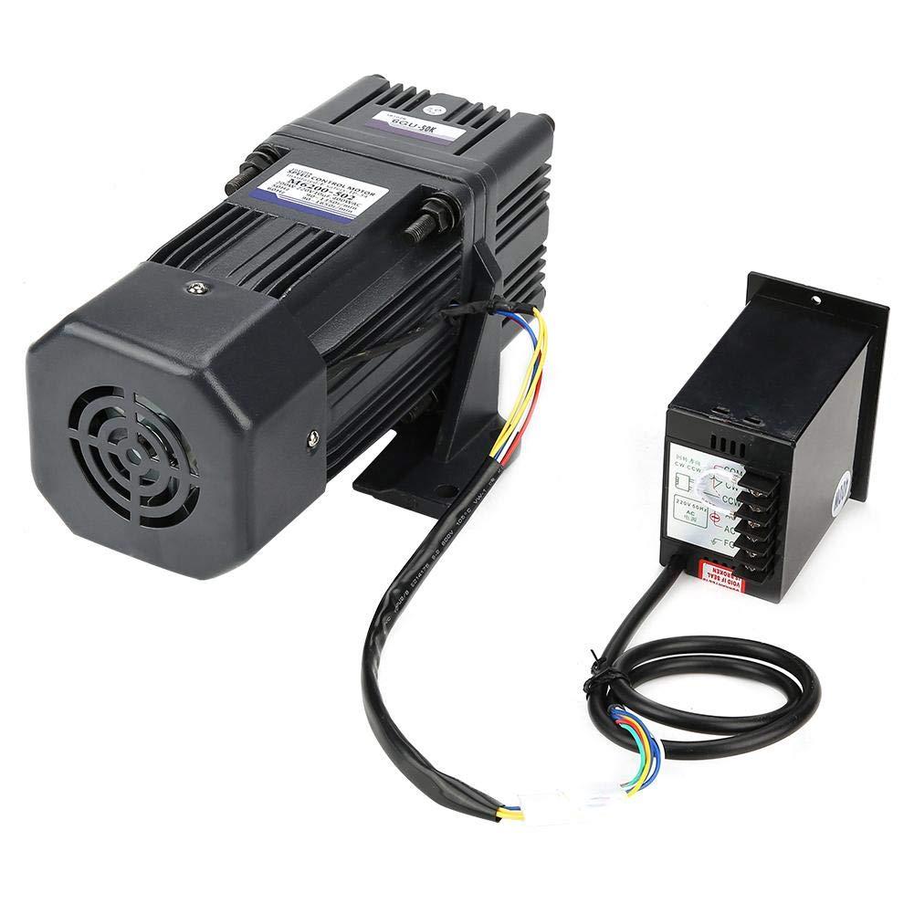 Untersetzungsmotor mit Getrieberegler , 220V 200W M6200-502 CW//CCW Untersetzungsmotor mit Getrieberegler AC Reduction Ratio 50k