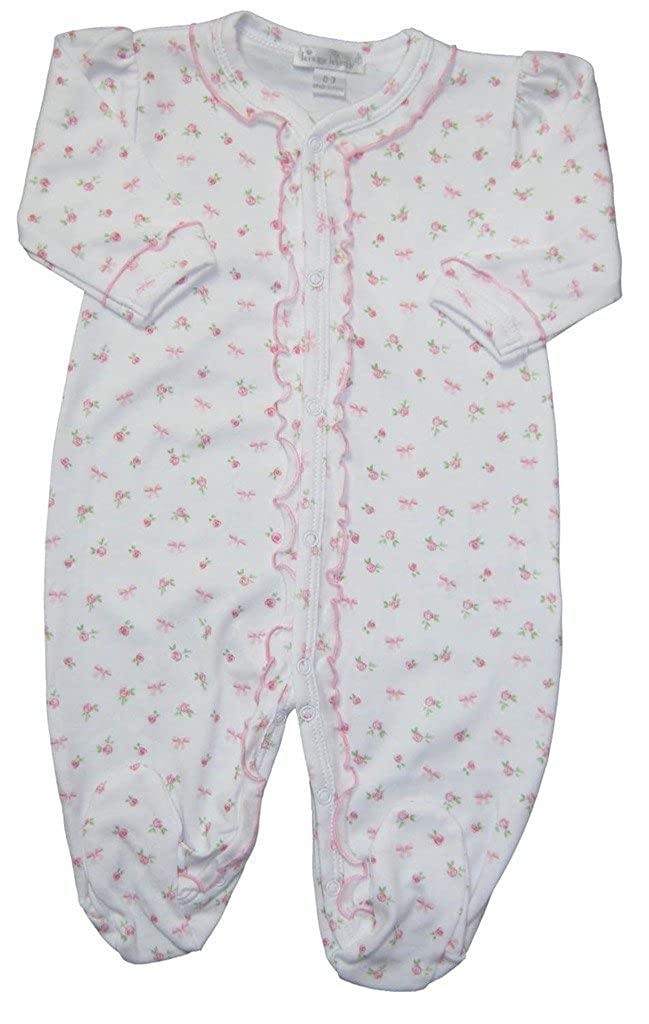 2019年最新海外 Kissy Kissy Kissy SLEEPWEAR ベビーガールズ SLEEPWEAR Preemie B0176NWRAO ホワイトとピンク B0176NWRAO, ウラウスチョウ:ddb556af --- turtleskin-eu.access.secure-ssl-servers.info