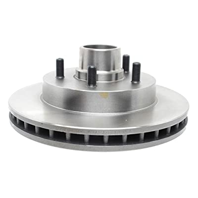 ACDelco 18A503A Advantage Non-Coated Front Disc Brake Rotor and Hub Assembly: Automotive