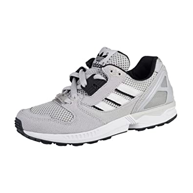 fc227cb09 adidas ZX 8000 - B24858 - Color Grey-Black-White - Size  4.0  Amazon ...