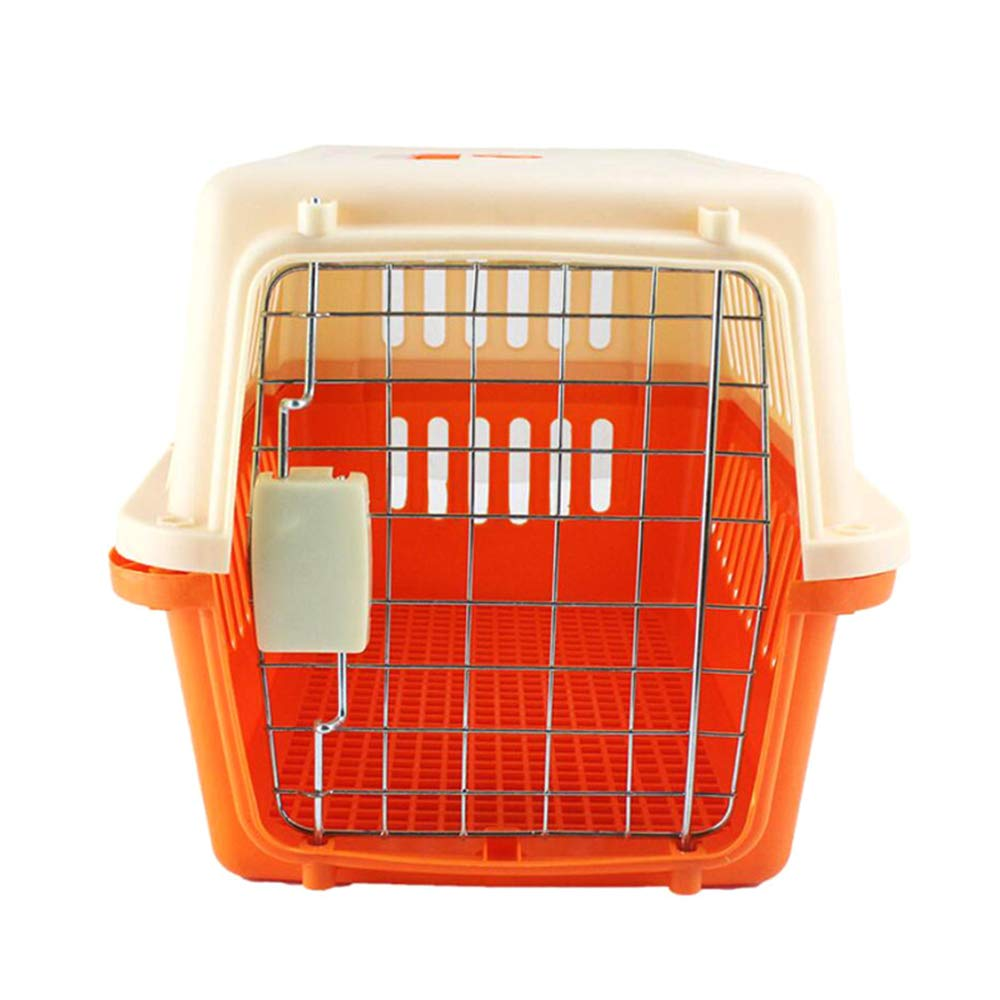 QZQWQNA Quality Stainless Steel Kennel Carrying Out Pet Folding Cage Pet Dog Carrier Pad Safe Carry House Dog Car Seat Basket