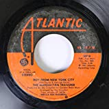 The Manhattan Transfer 45 RPM Boy From New York City / The Word of Confirmation