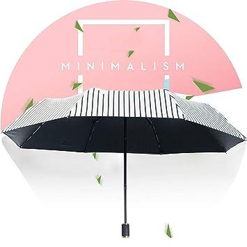 Amazon.com: Paraguas plegable para sol, protección solar UV ...