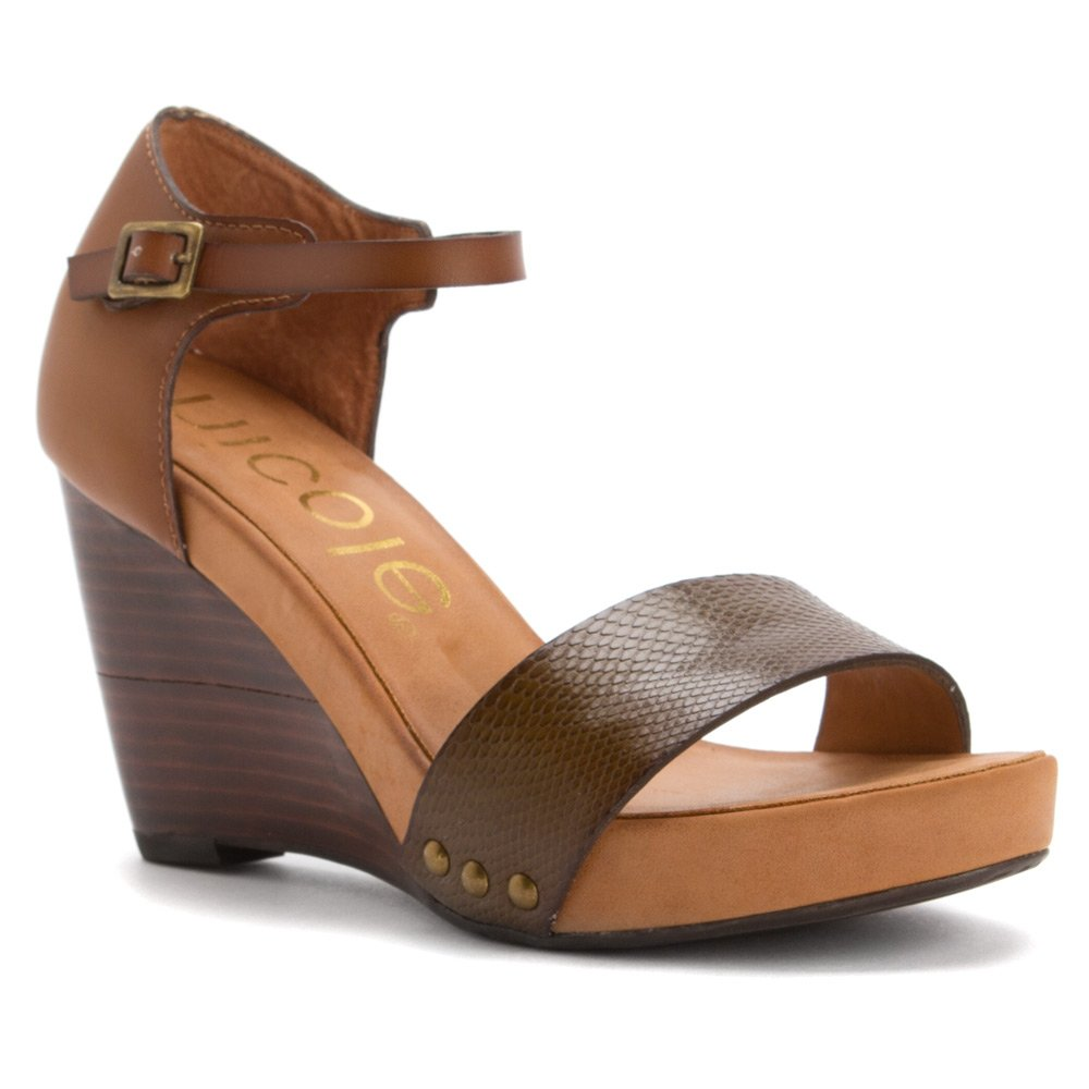 Nicole Women's Savannah Sandals B00UMXO73Q 6.5 B(M) US Peppercorn