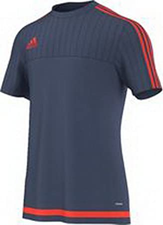 30320a49c adidas Tiro 15 Men s Training Shirt blue red  Amazon.co.uk  Sports ...