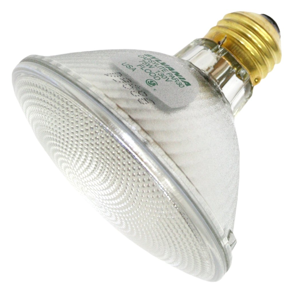75 Watt - PAR30 - Flood - 130 Volt - Halogen Light Bulb - Sylvania 14629