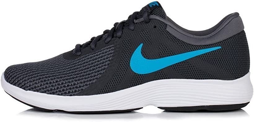 Nike Revolution 4 EU, Zapatillas de Running para Hombre, Multicolor (Anthracite/Lt Blue F 003), 38.5 EU: Amazon.es: Zapatos y complementos