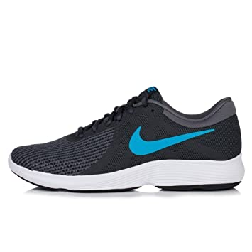 Nike Women's Running Shoes grey ANTHRACITE / LT. BLUE FURY Size: 11.5 UK