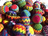 Penny Lane Brand Hacky Sack Imported From Guatamala Set of 6 Size: Set of 6 Model: