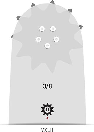 "Oregon 200RNDK095 3//8/"" Pitch .050/"" Gauge 20/"" Power Match Chain Saw Bar"