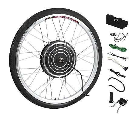YESPER 26 Pulgadas 1000 W 48 V Rueda Delantera para Bicicletas eléctricas Plug-It para