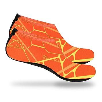 OUTDOT Zapatos De Agua para Mujer para Hombre Zapatos De Piscina para Playa Descalza Calcetines De