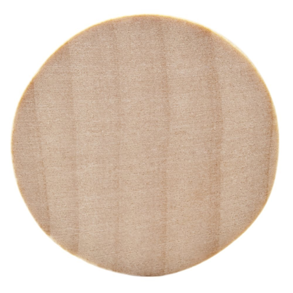 Natural Unfinished Round Wood Circle Cutout 2 Inch - Bag of 100