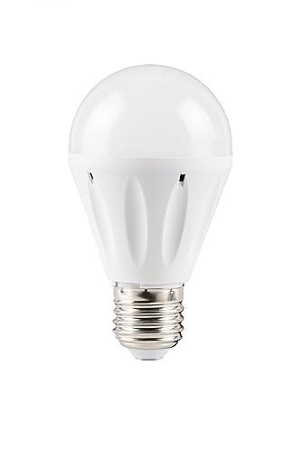 Bombilla LED E27 A60 7 W blanco cálido 2800 K 650lumen 180 ° (equivalente a