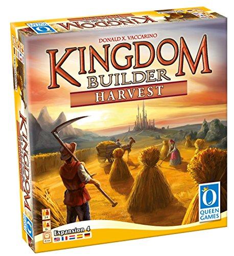 Kingdom Builder Expansion: Harvest Board Game (2-4 Player) (Board Game Kingdoms Three)