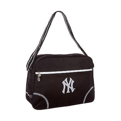 New York En Et Toile NoirVêtements Sac Yankees Postier nvPm0yNO8w
