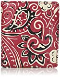 Marc Jacobs Recruit Paisley Open Face Billfold Wallet, Chili Pepper Multi, One Size