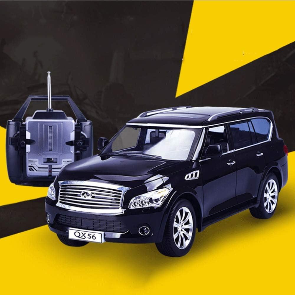 S2F5 1:14 4WD neumáticos de coches de control remoto con la simulación de alta velocidad de 2,4 GHz 8,2 kmh vehículos de carreras con luces LED recargable Monster rastreadores Chariot mejor juguete de