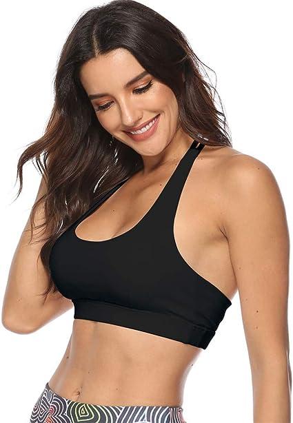 Women Running Sports Bra Yoga Workout Vest Crop Tops Shapewear Gym Recreation Bras
