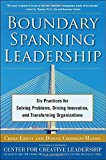 Boundary Spanning Leadership: Six Practices for Solving Problems, Driving Innovation, and Transforming Organizations by Ernst (1-Nov-2010) Hardcover