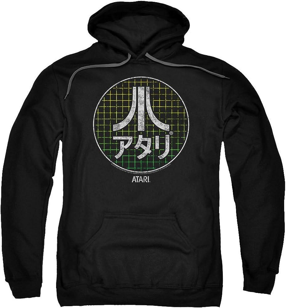 Atari JAPANESE GRID Logo Katakana Vintage Style Licensed Adult T-Shirt All Sizes