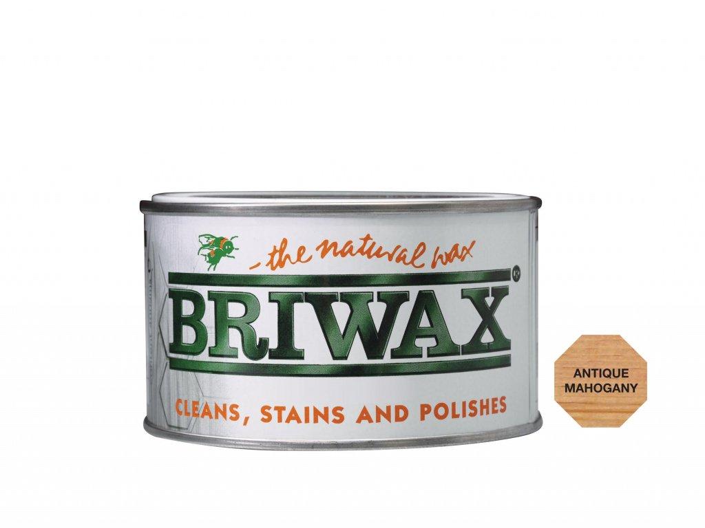 Briwax Natural Cera 400g antiguo de caoba