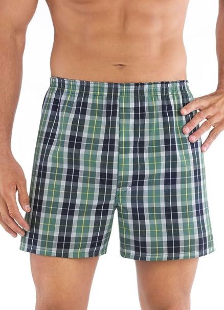 4 Pack Jockey Mens Underwear Classic Full Cut Boxer