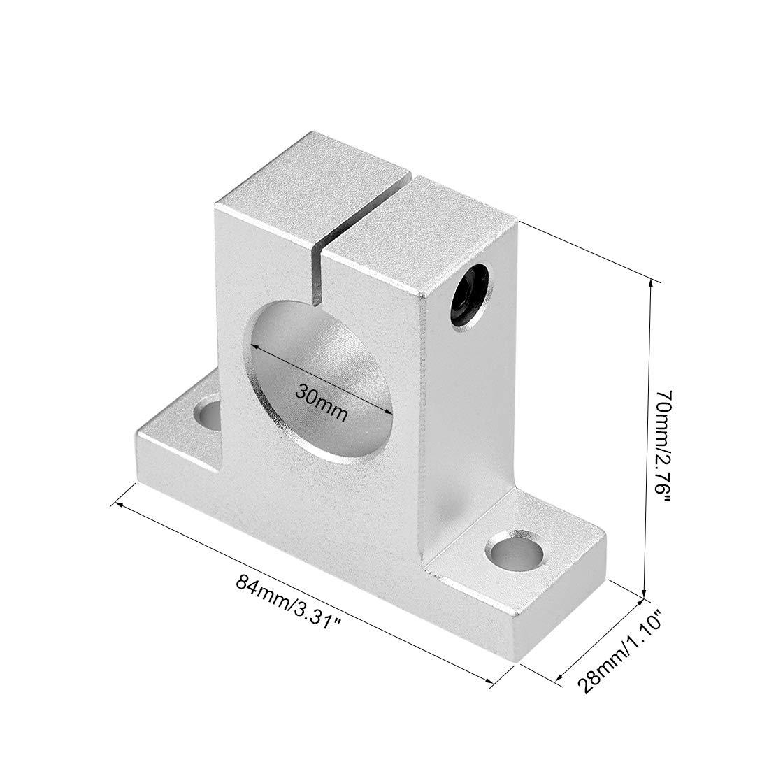 uxcell 20mm Shaft Support SK20 Linear Motion Slide Rail Guide Blocks for CNC 3D Printer Pack of 2