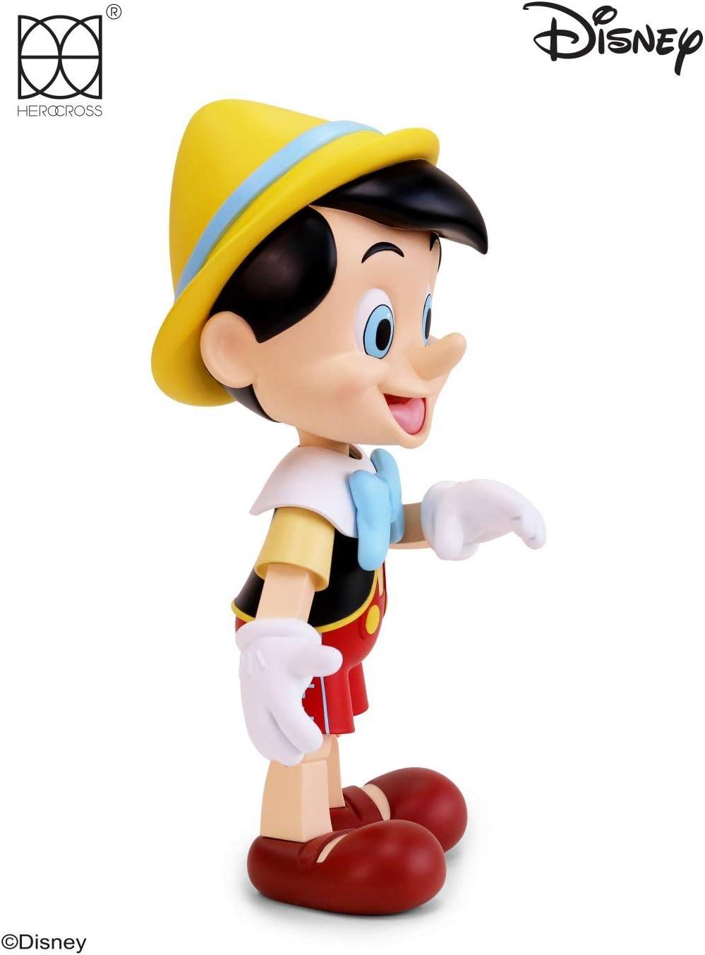 """Herocross Disney 12/"""" Pinocchio Vinyl Figure New"""
