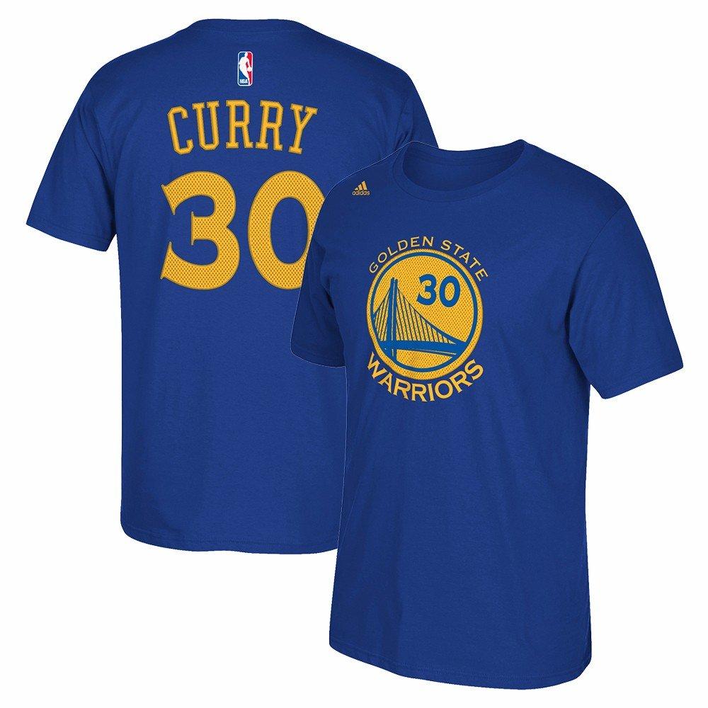 adidas Stephen Curry Golden State Warriors NBA Azul # 30 ...